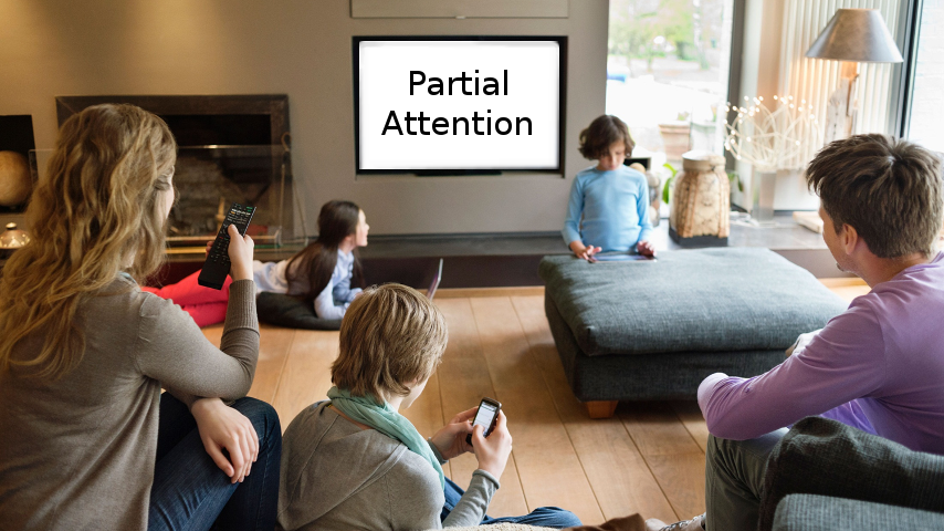 Partial Attention Slide