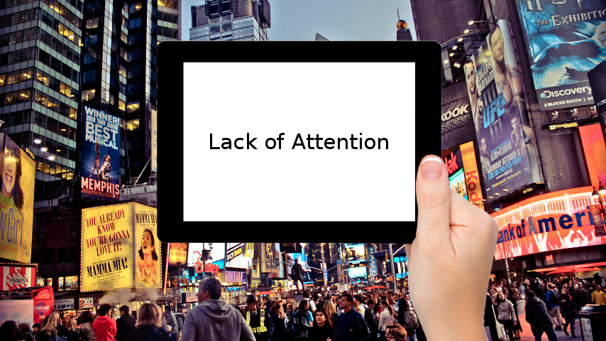 Lack of Attention Slide
